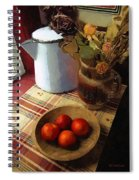 Farmhouse Fruit And Flowers Spiral Notebook
