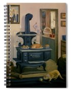 Farmhouse In Autumn 1990 Spiral Notebook