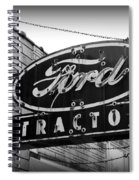 Farming - Ford Tractors Spiral Notebook