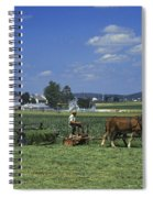 Farming The Old Order Way Spiral Notebook
