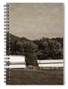 Farming The Shenandoah  Spiral Notebook