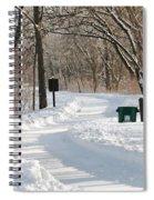 Farnsworth Park Path Spiral Notebook