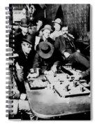 Faro Game Orient Saloon C. 1900 - Arizona Spiral Notebook