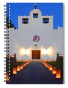 Farolitos Saint Francis De Paula Mission Spiral Notebook