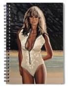 Farrah Fawcett Painting Spiral Notebook