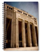 Farrington Field Facade Spiral Notebook