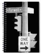 Farwell And Brady Spiral Notebook
