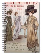 Fashion Advert For Eloy Mignot Spiral Notebook