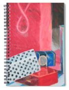 Fashion Boxes Spiral Notebook