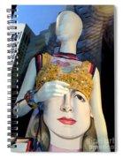 Fashion Face Spiral Notebook