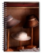 Fashion - Hats On Sale Spiral Notebook