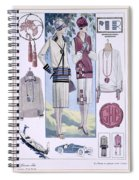Fashion Plate, From La Femme Chic Spiral Notebook