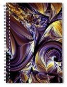 Fashion Statement Abstract Spiral Notebook