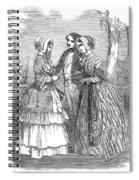 Fashion Women's, 1847 Spiral Notebook