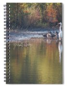 Fast Feathered Friends Spiral Notebook