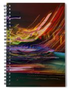 Faster Than The Speed Of Light Spiral Notebook