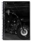 Fat Boy In The Barn Spiral Notebook