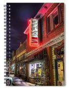 Fat City Cafe Spiral Notebook