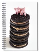 Fat Pigs 5 Spiral Notebook