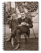 Father And Daughter Spiral Notebook