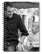 Father And Son II Spiral Notebook