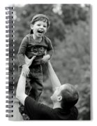 Father And Son IIi Spiral Notebook