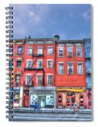 Father And Son - Manhattan Bike Ride Spiral Notebook