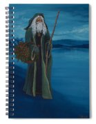 Father Christmas Spiral Notebook