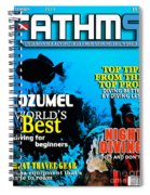Fathms Faux Magazine Cover Spiral Notebook