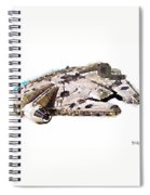 Millenium Falcon Spiral Notebook