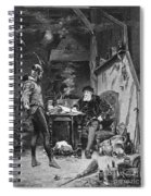 Faust And Mephistopheles Spiral Notebook