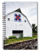 Fayette Farmers Daughter Quilt Barn Spiral Notebook