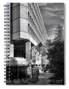 Fbi Building Modern Fortress Spiral Notebook
