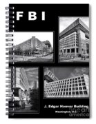 Fbi Poster Spiral Notebook