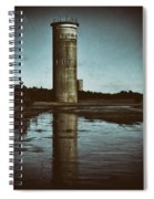 Fct3 Fire Control Tower Reflections In Sepia Spiral Notebook