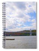 Fdr Mid Hudson Bridge - Poughkeepsie Ny Spiral Notebook