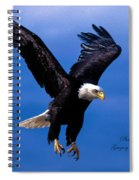 Fearsome Bald Eagle Spiral Notebook