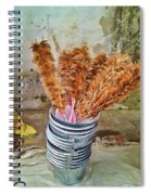 Feather Duster Bouquet Spiral Notebook