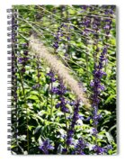 Feather In The Crowd Spiral Notebook