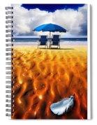 Feather Light Spiral Notebook