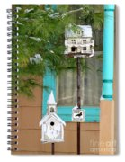 Feathered Friends Welcome Spiral Notebook