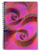 Feathers In The Wind Spiral Notebook