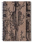 Feathers Thorns And Broken Arrow Bookmark No1 Spiral Notebook