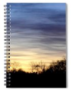 February 1 Dawn 2013 Spiral Notebook