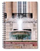 Federal Building Fountain Spiral Notebook