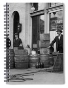 Federal Prohibition Agents 1923 Spiral Notebook