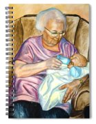 Feeding Baby 1 Spiral Notebook