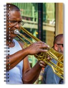 Feel It - New Orleans Jazz  Spiral Notebook