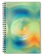 Feel Joy - Energy Art By Sharon Cummings Spiral Notebook