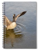 Feel Of Freedom Spiral Notebook